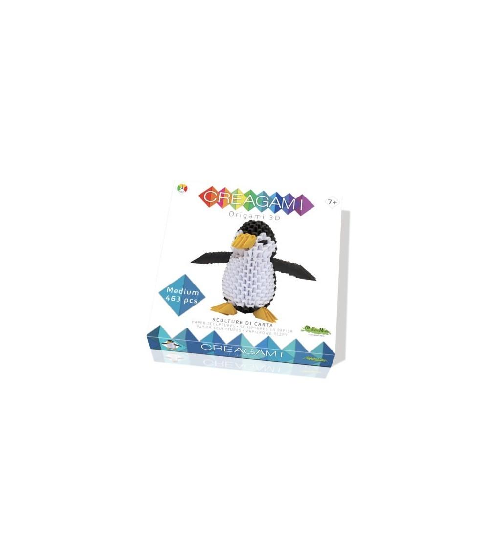 Creagami, pinguin - Lucru manual