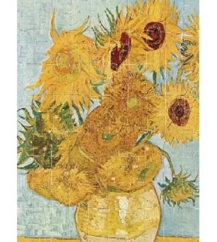 Puzzle Londji, Floarea soarelui- Van Gogh - Puzzle-uri