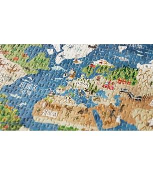 Micro puzzle Londji, continente - Puzzle-uri
