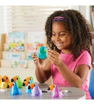Joc matematic Learning Resources, Pasari tropicale - Jucării matematică