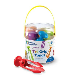 Set 6 carlige colorate - Jucării de lemn si Montessori