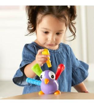 Joc de potrivire - Paunul Pedro - Jucării bebeluși