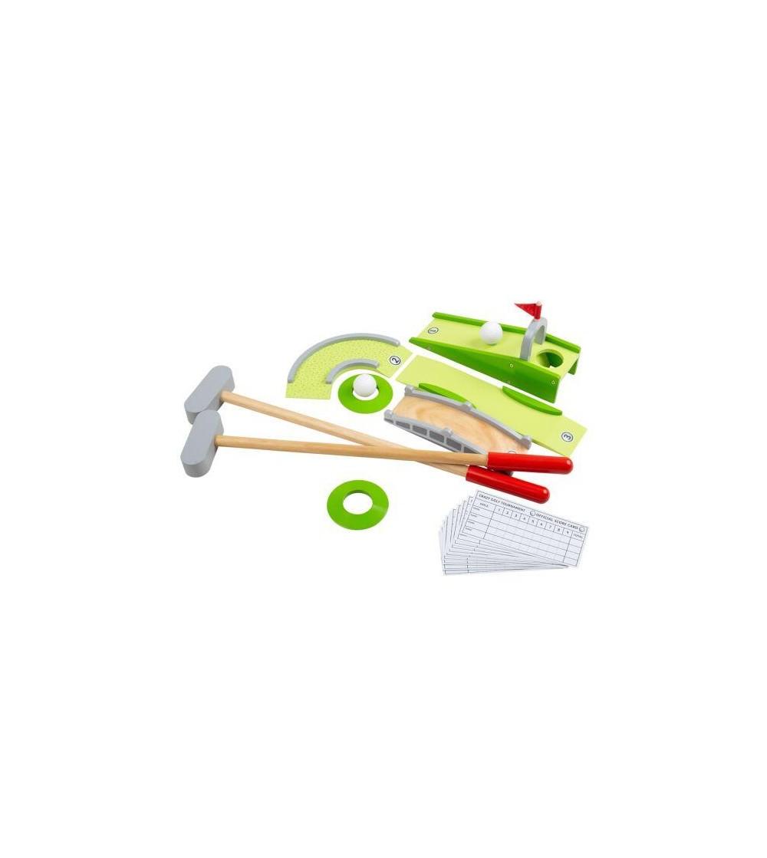 Joc Mini BigJigs, Golf din lemn - Jucării și accesorii sportive