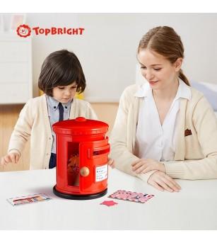Joc educativ Topbright - Cutia postala - Jucării creativ-educative