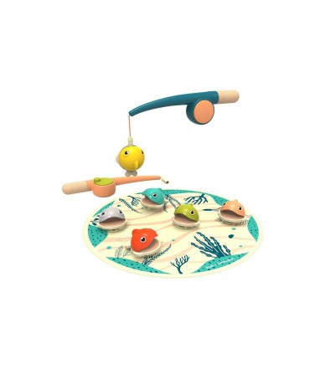 Joc magnetic de pescuit, Topbright - Jucării de lemn si Montessori