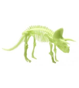 Schelet Brainstorm, Triceratops reflectorizant - Mediu înconjurător