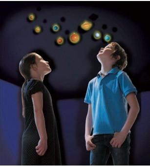 Sistem solar fosforescent, Brainstorm - Decorațiuni