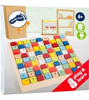 Sudoku din lemn Legler Small Foot - Jucării matematică