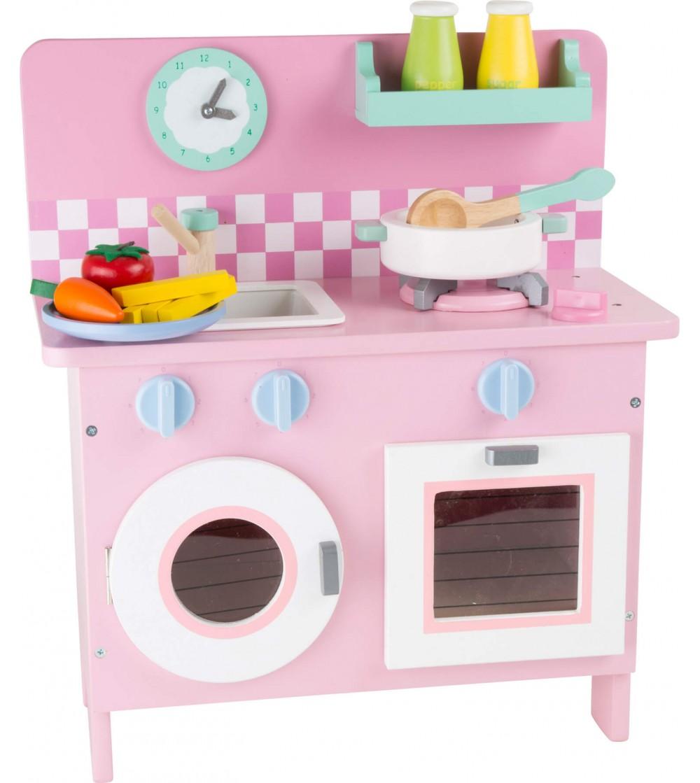 Bucatarie din lemn Legler Small Foot, retro - Bucătărie copii