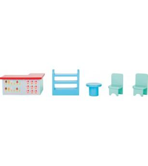 Set de joaca Legler Small Foot, La cofetarie - Jucării de lemn si Montessori