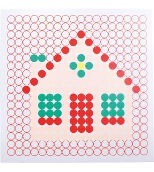 Set creativ Legler Small Foot, Mozaic - Jucării creativ-educative