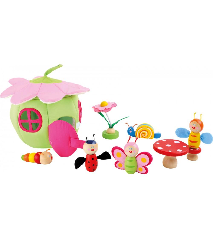 Set de joaca Legler, Casuta insectelor - Căsuțe de păpuși și accesorii