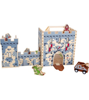 Set de joaca Legler Small Foot, Castel - Jucării de lemn si Montessori