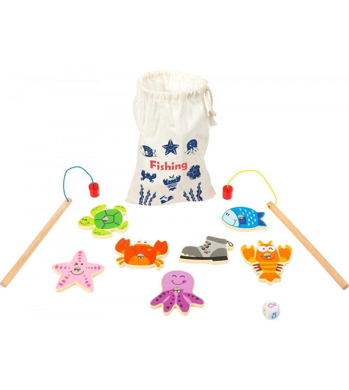 Joc magnetic de pescuit, Legler Small Foot - Jucării de lemn si Montessori