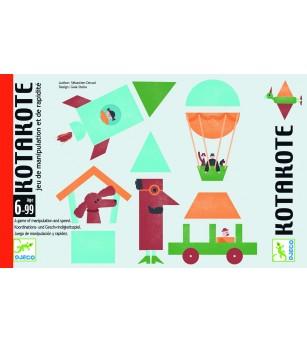 Joc de carti Djeco Kotacote - Jocuri de observație și atenție