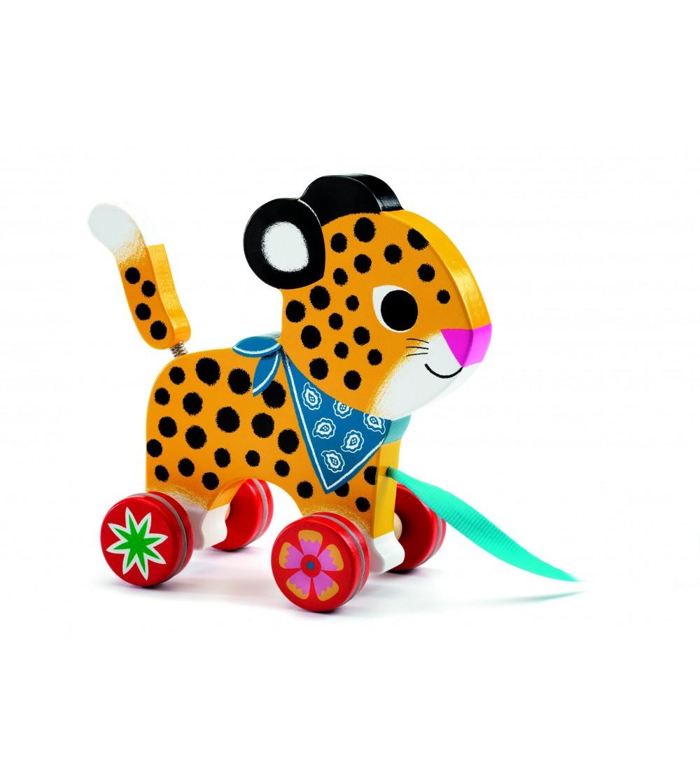 Jucarie de tras Djeco, Greta - Jucării de tras și împins
