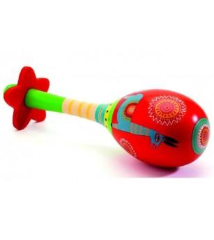 Rainstick din lemn, baton de ploaie Djeco - Instrumente muzicale