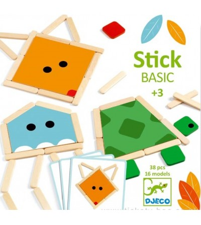 Stick basic, joc educativ Djeco - Jucării creativ-educative