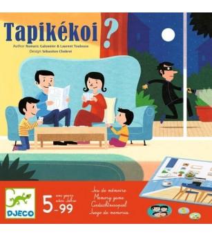 Joc de societate Djeco-Tapikekoi, Ce lipseste din casa? - Jocuri de masă