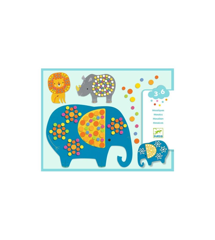 Mozaic Djeco Jungla vesela - Lucru manual