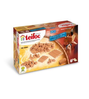 Kit de constructie Teifoc - Sortiment de caramizi - Jocuri construcție