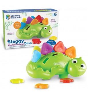 Joc de potrivire - Dinozaurul Steggy - Jucării bebeluși