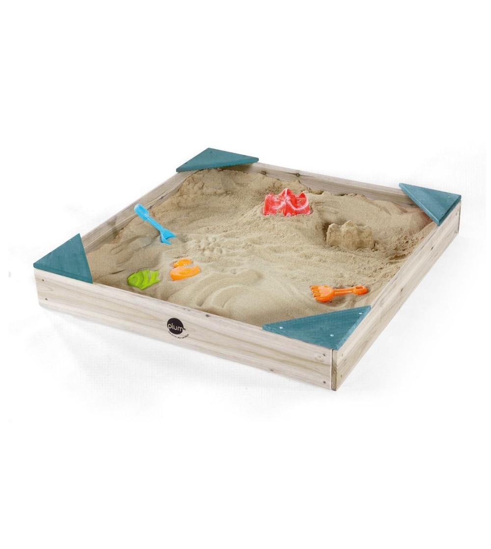 Cutie de nisip din lemn, Junior 90x90 Plum - Locuri de joacă