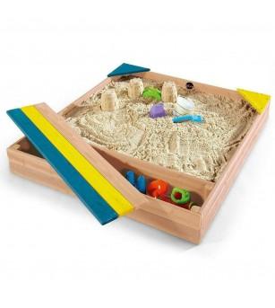 Cutie de nisip si cutie de jucarii, Store-It Plum - Locuri de joacă