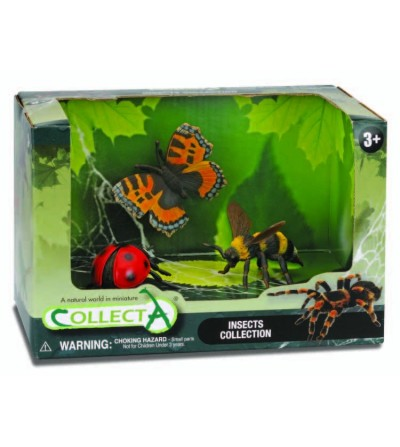 Set 3 figurne Collecta, Insecte - Figurine