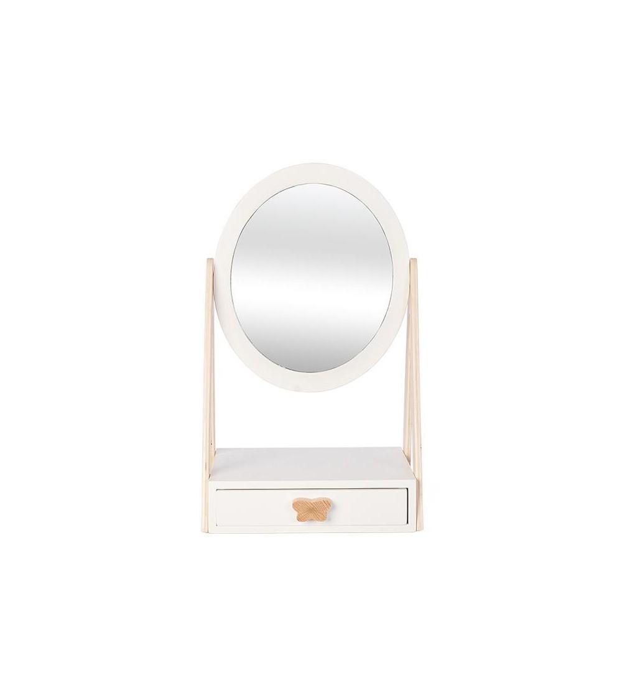 Oglinda fetitelor, din lemn, cu sertar, byAstrup - Organizare