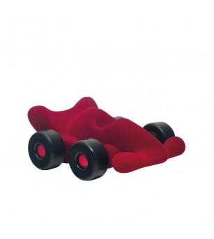 Jucarie cauciuc natural Masina curse Modena, rosie, Rubbabu - Vehicule de jucărie