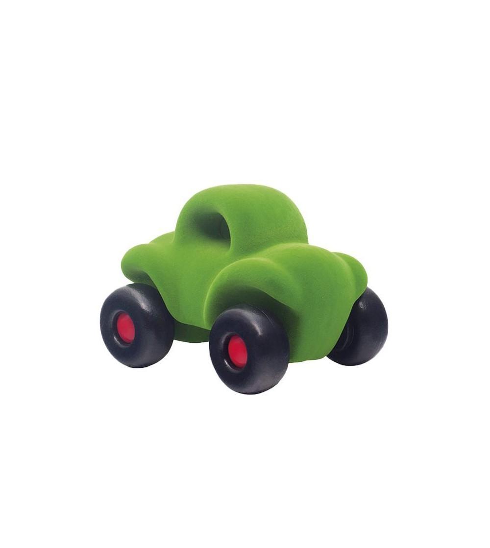 Jucarie cauciuc natural Masinuta Buggy, verde, Rubbabu - Vehicule de jucărie