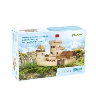 Set constructie arhitectura Castel, 607 piese din lemn, Walachia - Jocuri construcție