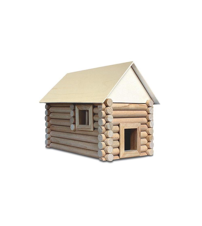 Set constructie arhitectura Vario Suitcase, 72 piese din lemn, Walachia - Jocuri construcție