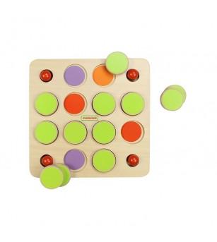 Joc de memorie, din lemn, Masterkidz - Jocuri de memorie și asociere