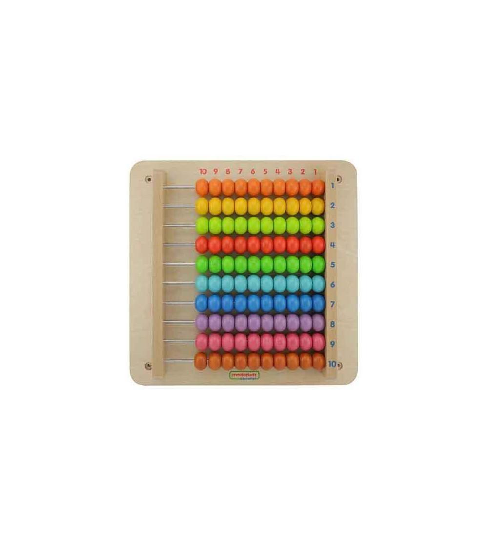 Panou educativ Socotitoare, din lemn, Masterkidz - Jucării matematică