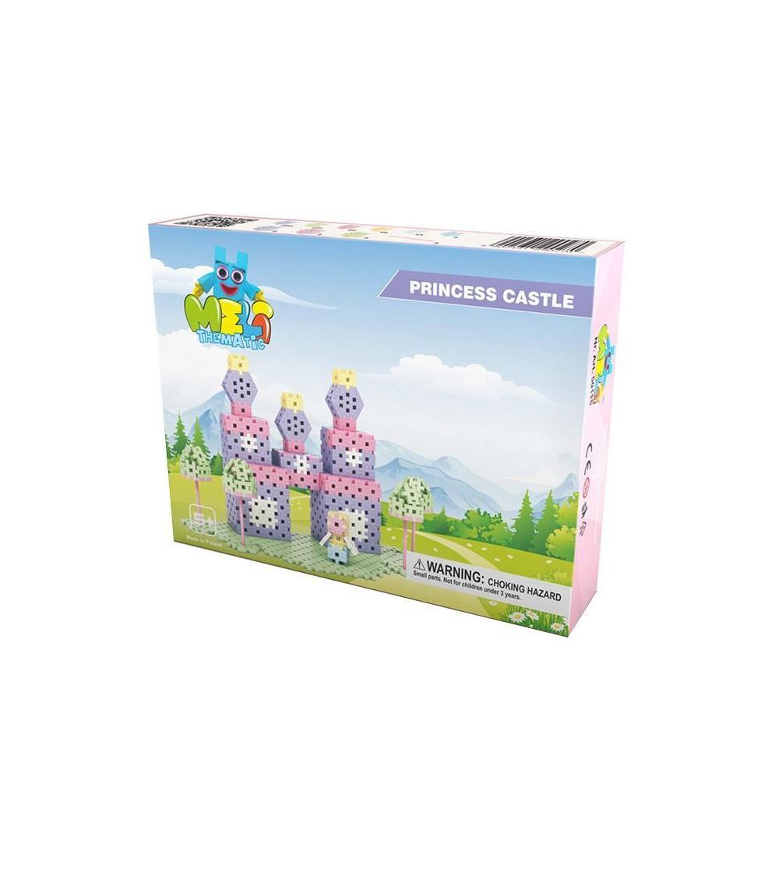 Set creativ de constructie Castelul Printesei, 434 piese, Meli - Jocuri construcție