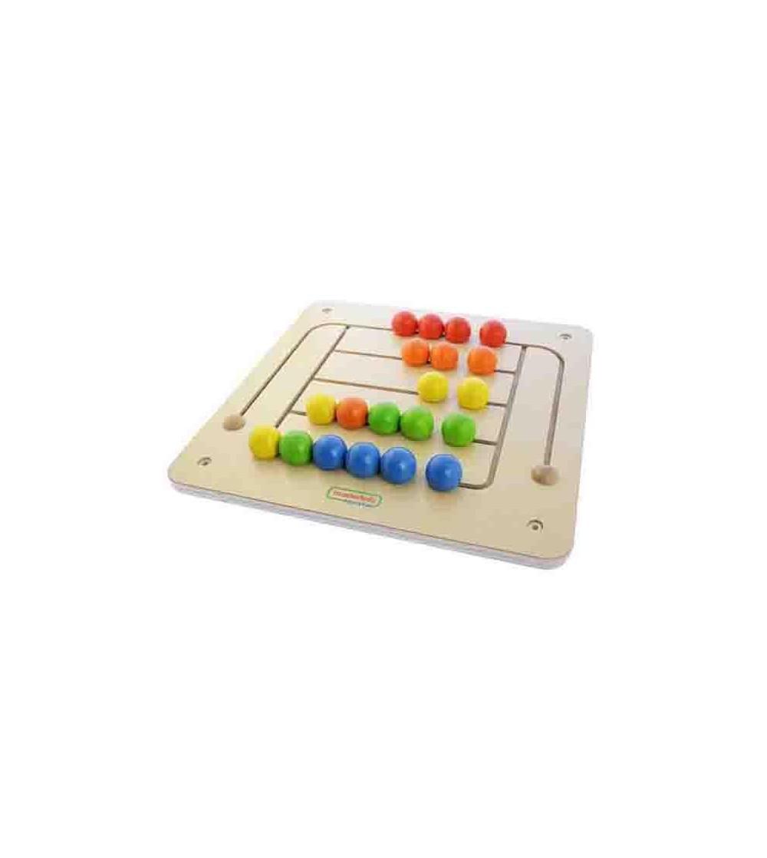 Labirint magnetic, din lemn, Masterkidz - Jucării motrice