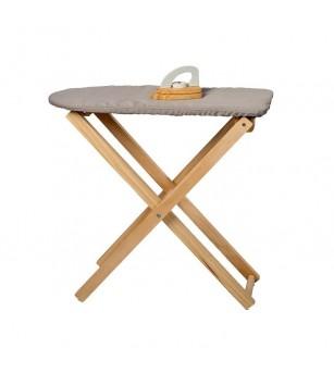 Fier si masa de calcat de jucarie lemn FSC, MamaMemo - Seturi de menaj si bricolaj copii