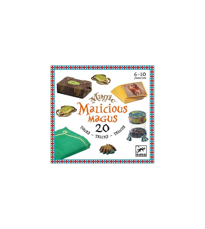 Colectia magica Djeco Malicious Magus, 20 de trucuri de magie - Set magie copii