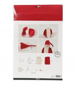 Kit DIY Ornamente Craciun - Mos Craciun, 20 cm - Crafturi