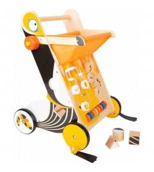 Premergator cu activitati Legler Small Foot, Toucan - Jucării de lemn si Montessori