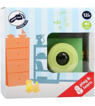 Camera foto de jucarie din lemn Legler Small Foot - Jucării de lemn si Montessori