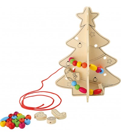 Kit DIY ornamente Craciun Legler Small Foot, Bradut - Jucării de lemn si Montessori