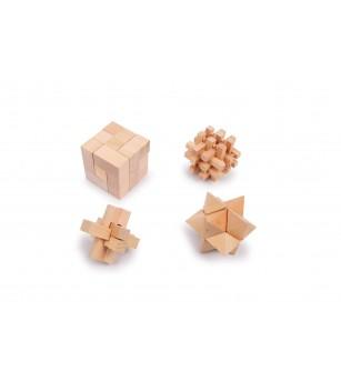 Set joc logic puzzle 3D, Legler Small Foot - Jucării logică