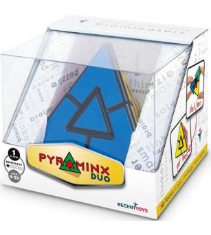 Joc de logica Recent Toys - Pyraminx Duo - Jucării logică