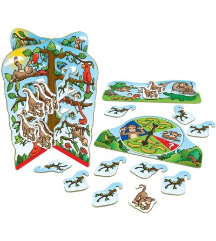 Joc educativ Orchard Toys - Cheeky Monkeys - Jocuri de masă