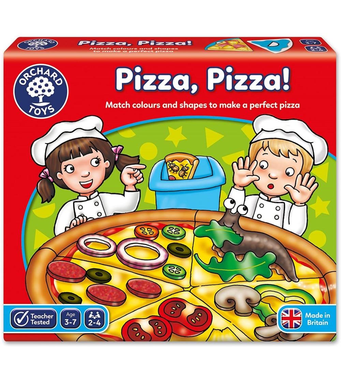 Joc educativ Orchard Toys - PIZZA PIZZA! - Jocuri de masă