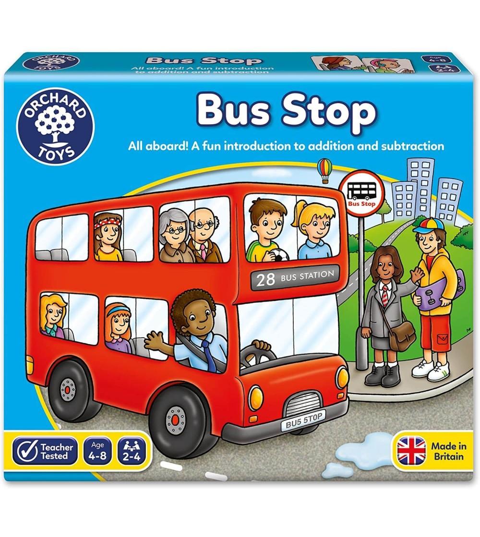 Joc educativ Orchard Toys Autobuzul - BUS STOP - Jocuri de masă