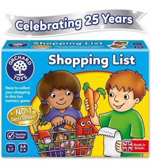 Joc educativ in limba engleza - Lista de cumparaturi - Jocuri de observație și atenție